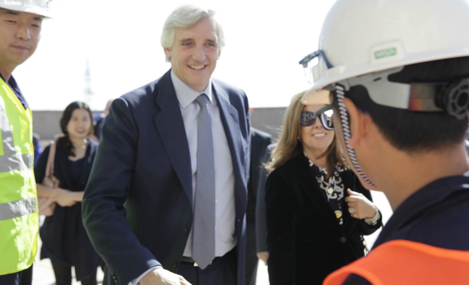 Denmark Minister-counsellor and Vestas  Delegation visit Hanas Yanchi Wind Farm