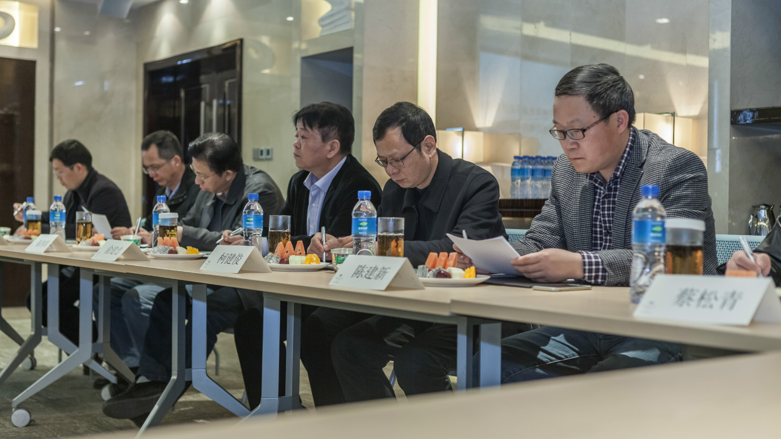 Putian delegations to Hanas