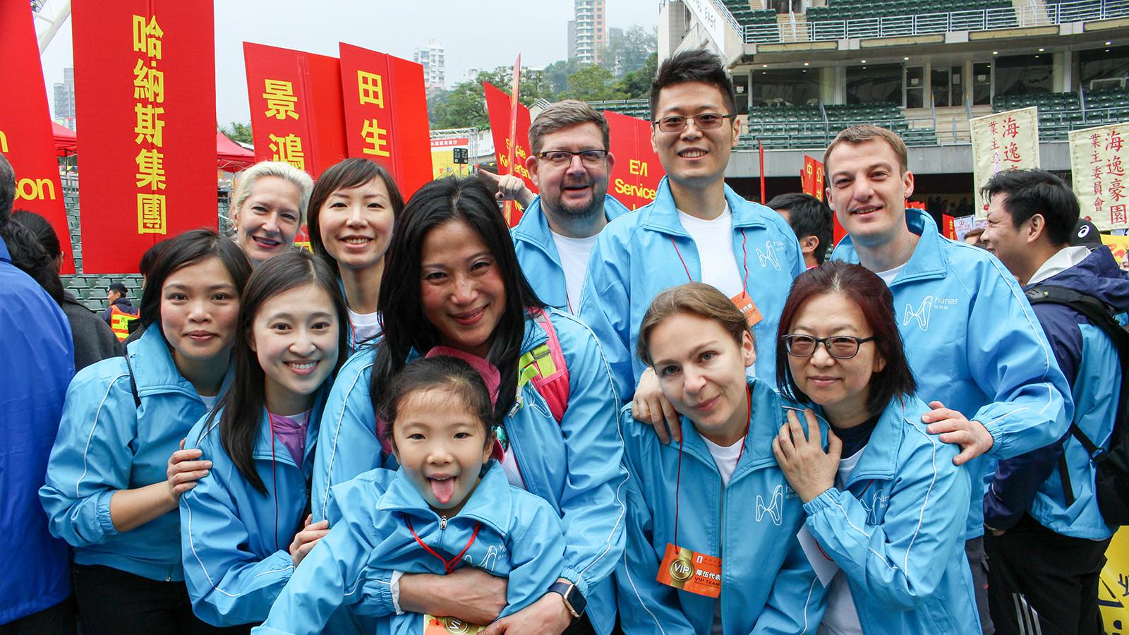 Hong Kong and Kowloon Walk for Millions 2016